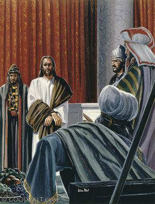 Matthew 27 Jesus And Pilate
