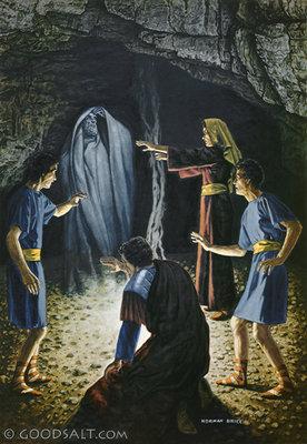 1 Samuel 28 Witch Of Endor