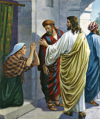Mark 7 Christ And The Syrophoenician Woman