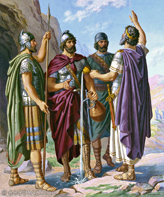 1 Chronicles 11 Davids Mighty Men