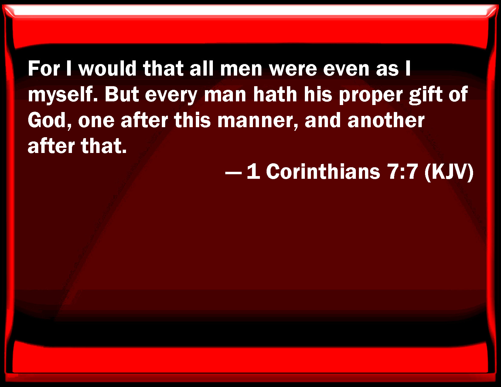 "Holy Spirit: What Is the ""Gift"" of Celibacy in 1 Corinthians 7:7?"
