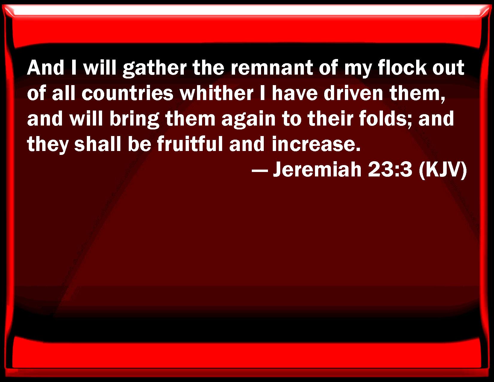 Jeremiah Jeremiah