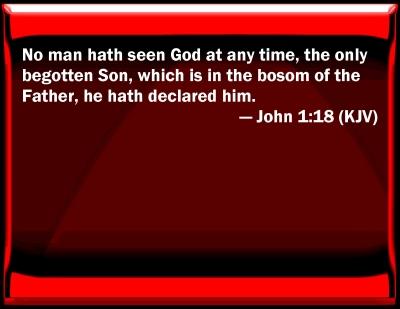 Joh 1 1-18
