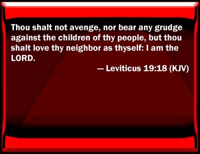 Leviticus 19 18 Hebrew Lefitiko 19 18 Leviticus