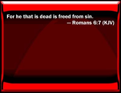 Bible Verse Powerpoint Slides For Romans 6 7