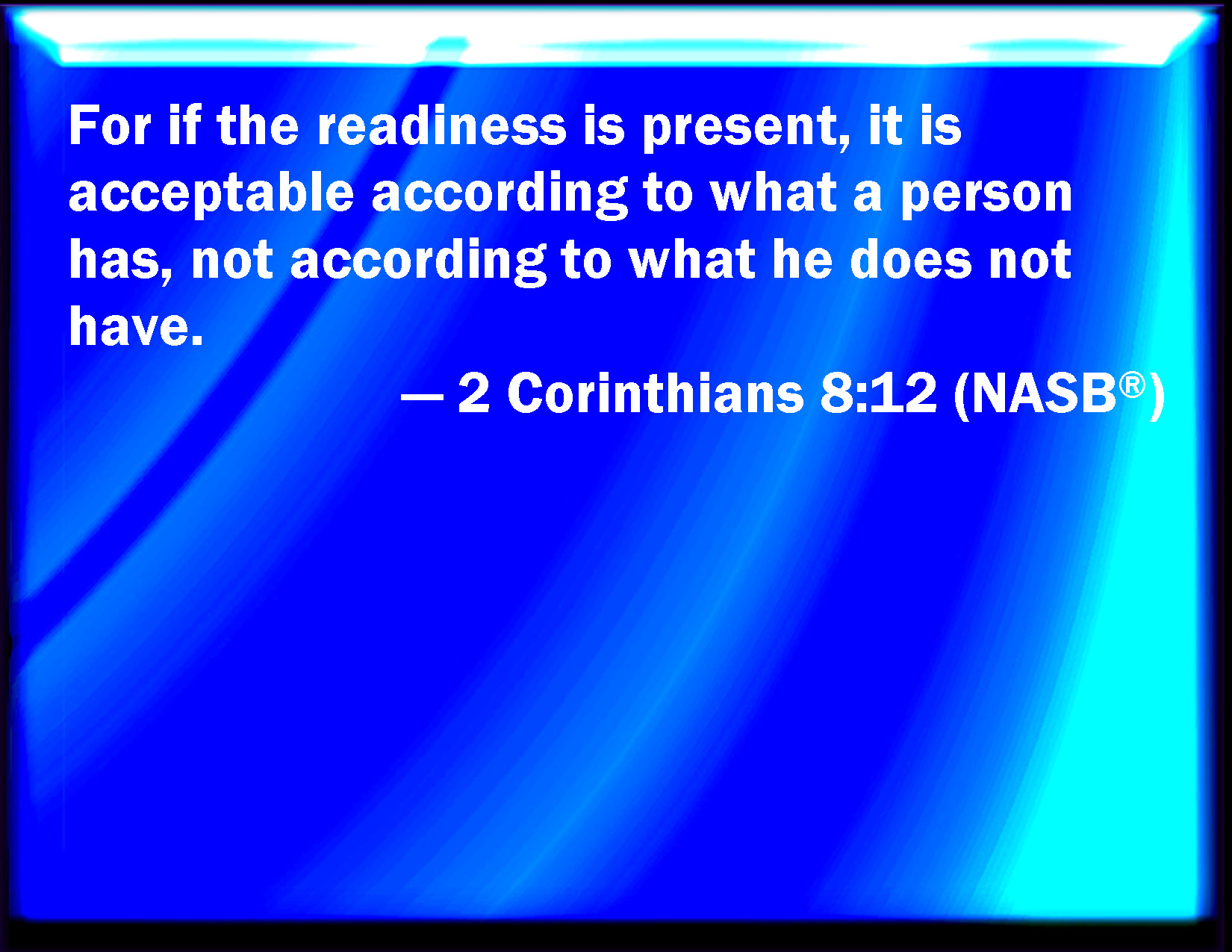 2 Corinthians 8