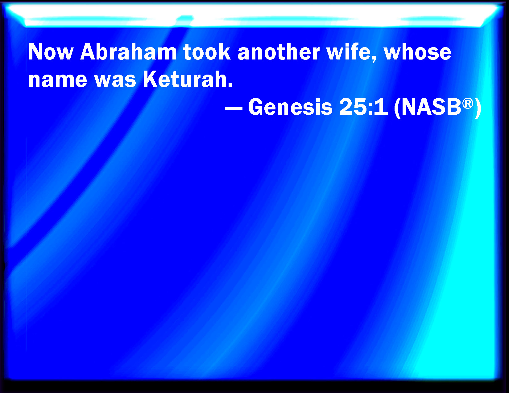 abraham second wife