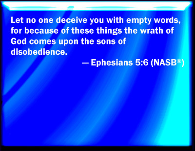 Bible Verse Powerpoint Slides For Ephesians 5 6