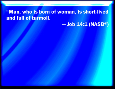 Bible Verse Powerpoint Slides For Job 14 1