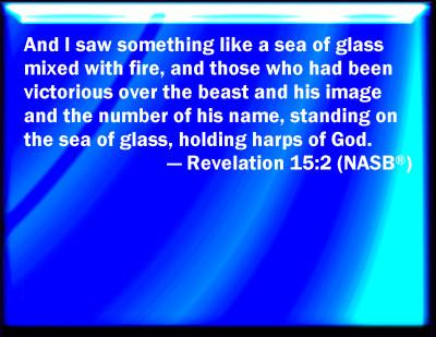 Bible Verse Powerpoint Slides For Revelation 15 2