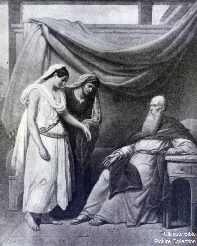 genesis 16 bible pictures abram with sarah and hagar