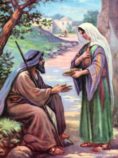 Elijah And The Widow Woman http://bibleencyclopedia.com/pictures/1_Kings_17_Elijah_and_the_Widow_of_Zarepath.htm