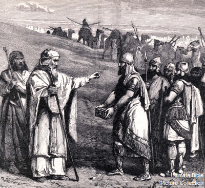 2 Kings 5 Bible Pictures: Elisha and Naaman