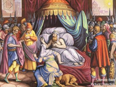 2 Kings 20 Bible Pictures: Hezekiah's Sickness