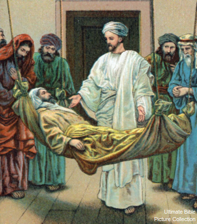 Luke 5 Bible Pictures Jesus Heals A Paralytic