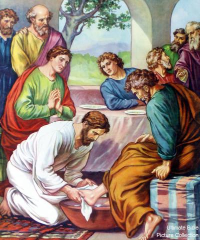 jesus washes the disciples feet 2018 presbyterian publishing corp 5 grace sightings march 18, 2018 e jesus washes the disciples' feet (based on john 13:1–17) one by one, jesus washed each of the disciples.