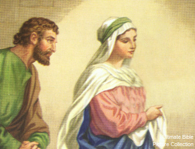 Matthew 1 Bible Pictures Joseph and Mary