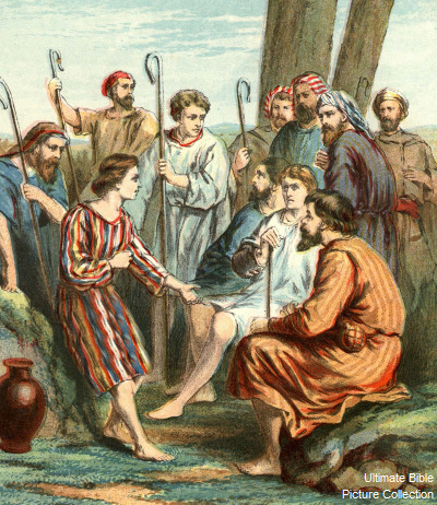 Genesis 37 Bible Pictures Joseph And His Colorful Coat