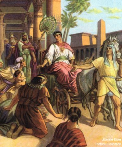 Genesis 41 Bible Pictures Joseph In Command