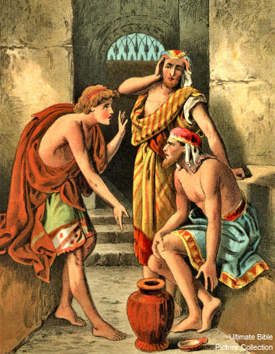 Genesis 40 Bible Pictures Joseph Interprets Dreams In Prison