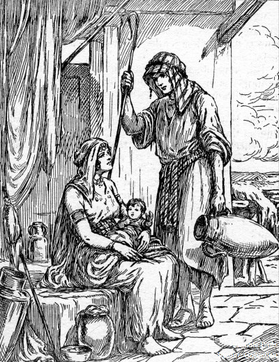 Exodus 4 Bible Picture...
