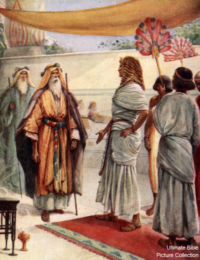 Moses And Aaron In The Bible