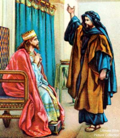 Chronicles 17: Nathan and David plan to build temple