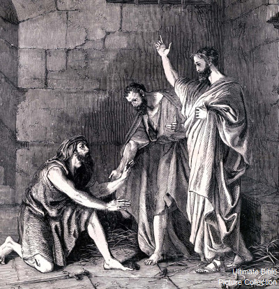Acts 16 Bible Pictures Paul And Silas