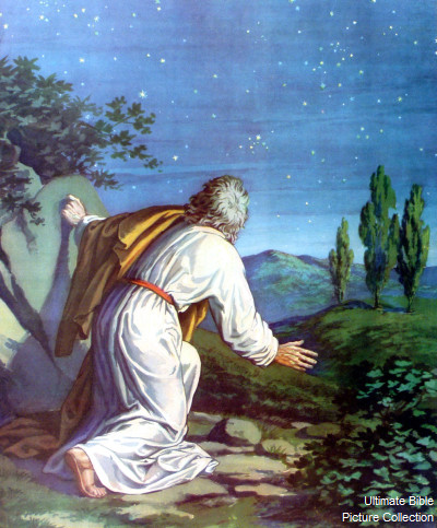 genesis 15 bible pictures abram looks at the stars