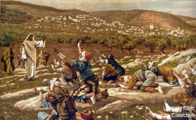 Jesus Heals Ten Lepers Craft http://bibleencyclopedia.com/pictures/Luke_17_Jesus_healing_the_ten_lepers.htm