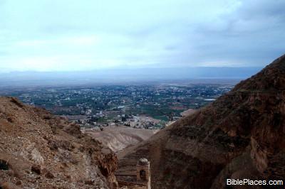 Uitzicht op Jericho
