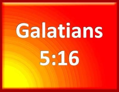 bible galatians 5