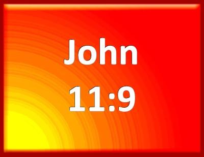 Resultado de imagen para JOHN 11:9