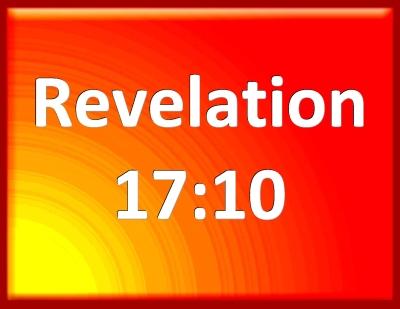 Resultado de imagen para REVELATION 17:10 BIBLE