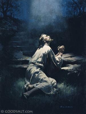 John 17 Jesus In Prayer
