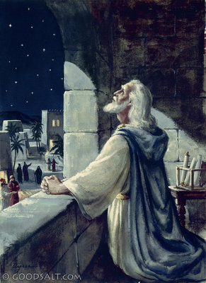Daniel 6: daniel praying
