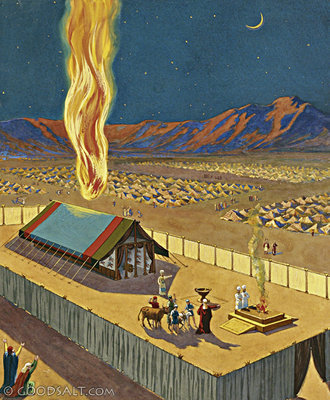 Image result for picture of tabernacle in exodus 26